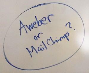 Aweber or Mailchimp?