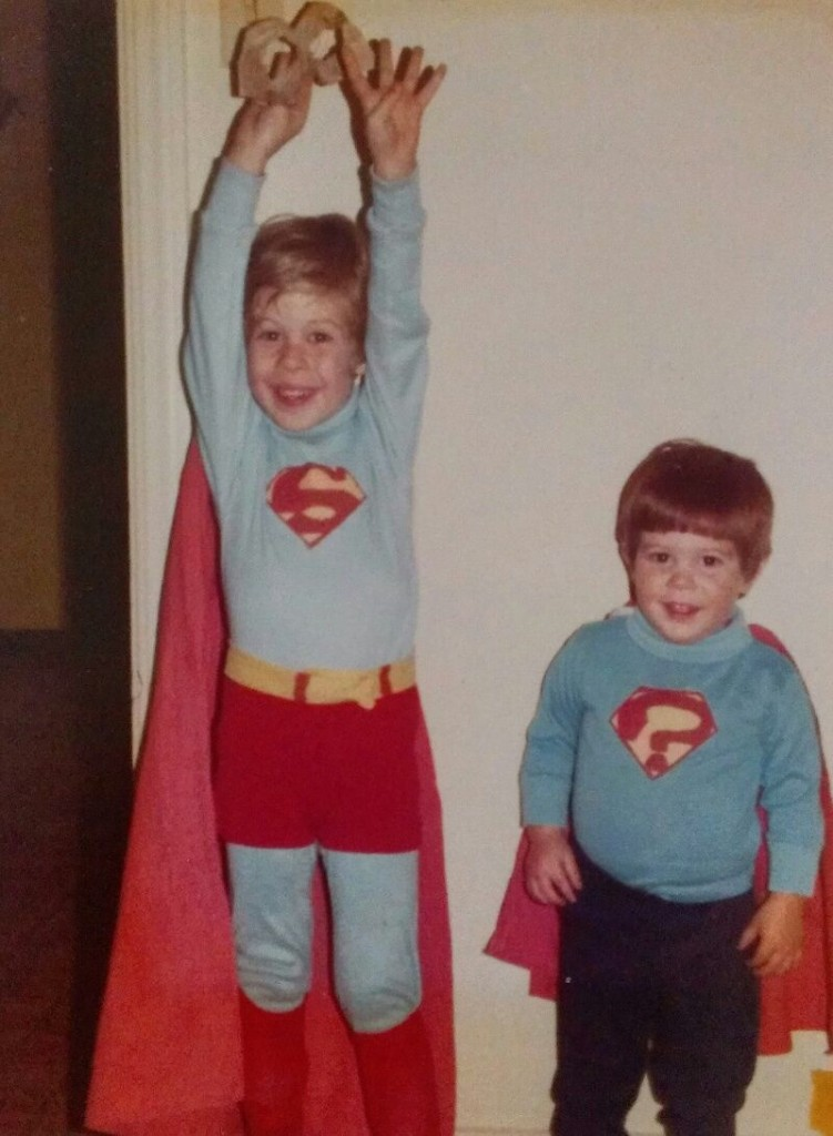 Kirk & Adam Superman Halloween