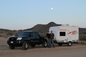 Us and the moon