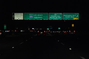 405 near LAX