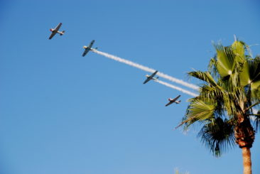 Aerial demonstration