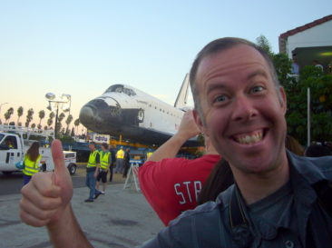 Endeavour! YIPPIE!!!