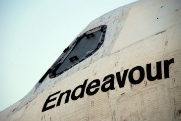 Endeavour closeup