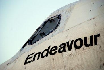 Endeavour closeup