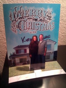 Our Pop-Up Christmas Card