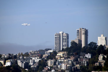 Endeavour Over San Francsico