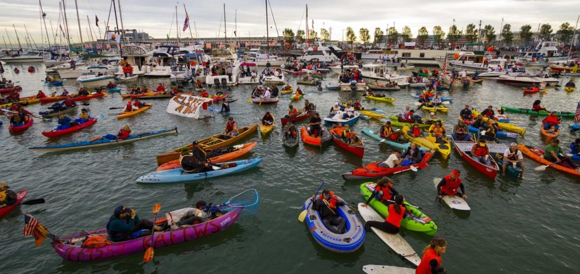 McCovey Cove at the 2010 World Series
