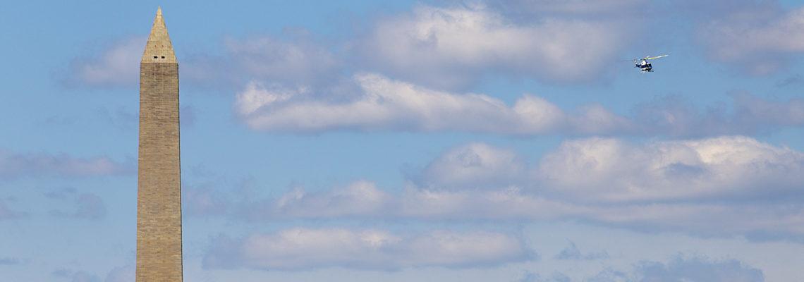 Washington Monument Flyby