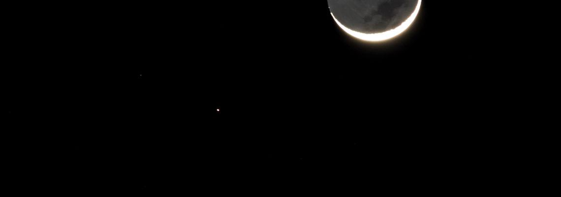 The Moon, Mars & Venus