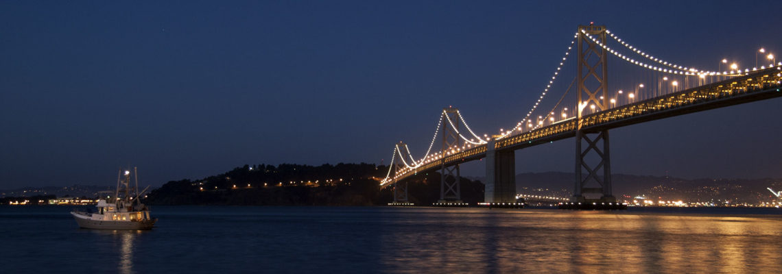 The Bay Bridge to Yerba Buena Island