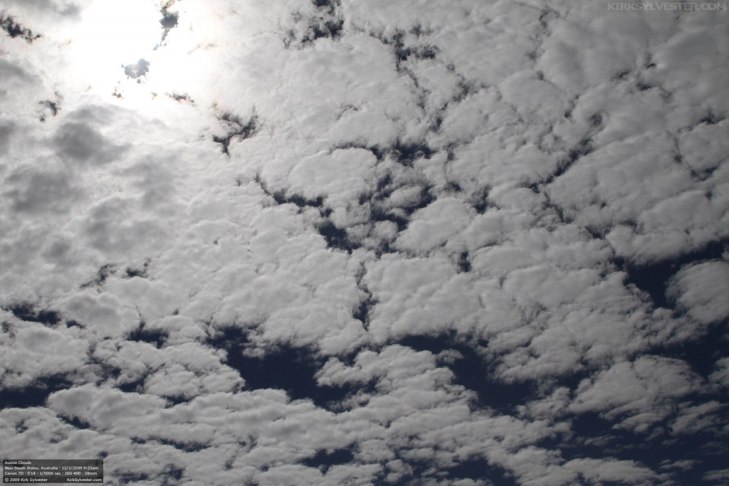 Aussie Clouds (Photo by Kirk Sylvester)