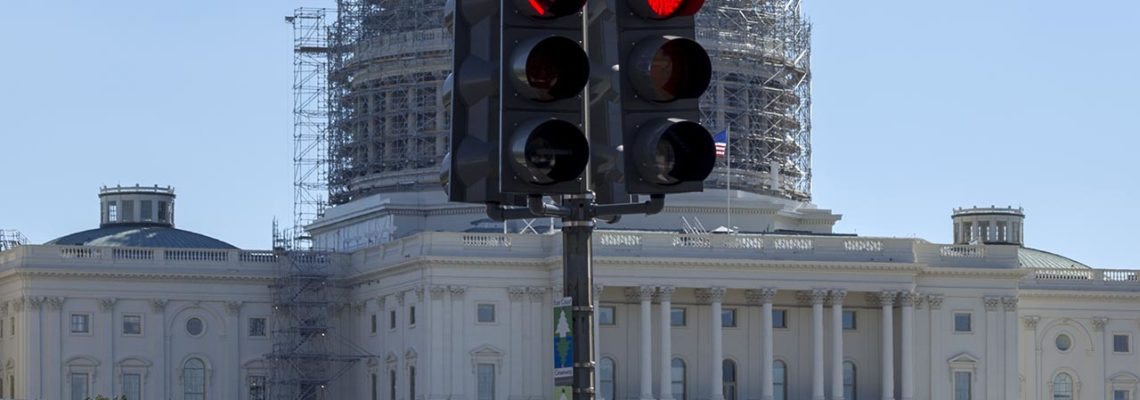 All Stop at the U.S. Capitol