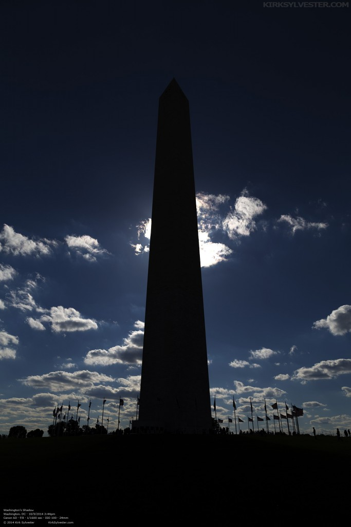 In Washington's Shadow (Photo by Kirk Sylvester)