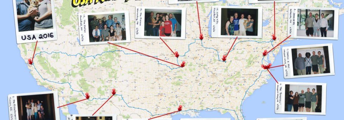 8181 Mile USA Road Trip 2016