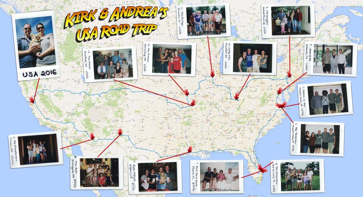 Picture of: 8181 Mile Usa Road Trip 2016 Kirksylvester Com